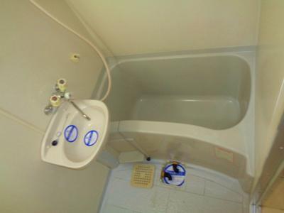 【浴室】ラ・グランデル阿倍野