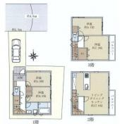 新築一戸建 川崎市中原区西加瀬の画像
