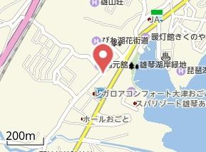 【地図】グリーンハイツ