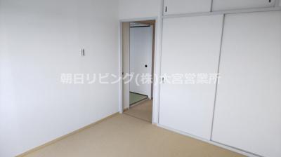 【寝室】東急ドエル桶川ビレジ 1号棟