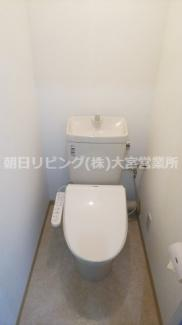 【トイレ】東急ドエル桶川ビレジ 1号棟