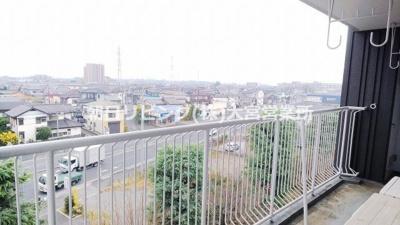 【バルコニー】東急ドエル桶川ビレジ 1号棟