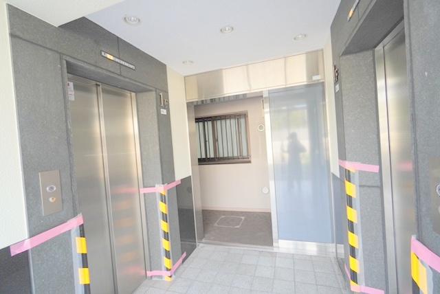 エレベーター付きです。