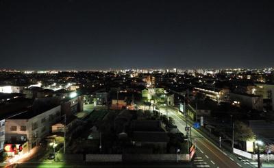 バルコニーからの眺望 夜
