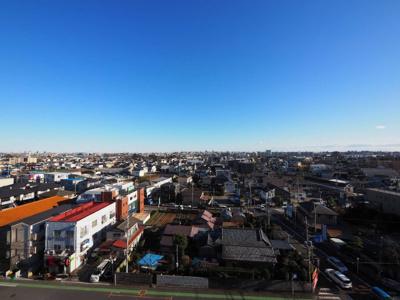 バルコニーからの眺望 昼