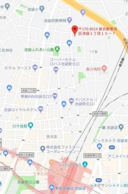 【地図】エルミタージュ上板橋