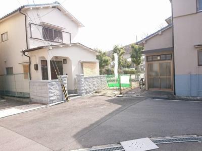 【外観】茨木市真砂1丁目 建築条件無し売土地