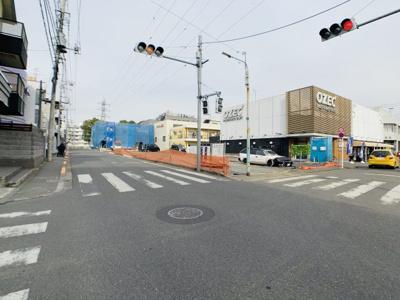 【前面道路含む現地写真】新築戸建 小平市小川東町5丁目 1号棟