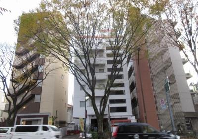 【外観】レック八幡山マンション