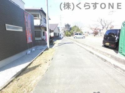 【前面道路含む現地写真】相生市那波野1丁目/新築戸建