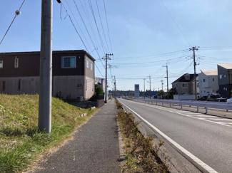 グランファミーロもねの里Ⅱ 土地 物井駅 南西側約22m、北西側約9mの角地です!