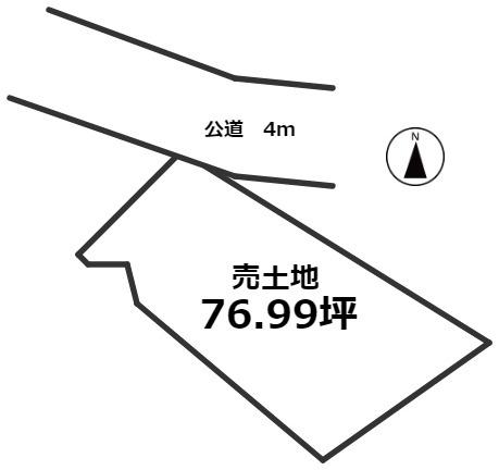 【土地図】大府市大東町5丁目 売土地