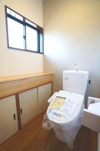 新品交換済!1階 シャワートイレです。
