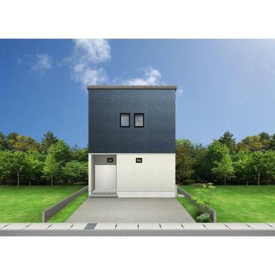 【完成予想図】鳥取市緑ケ丘1丁目新築戸建て