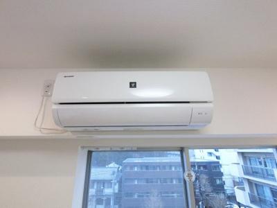 初期費用を抑える事ができるエアコン付です。