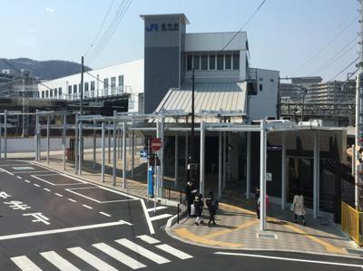 京阪石場駅