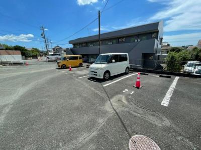 【駐車場】カレッジハウスⅡ