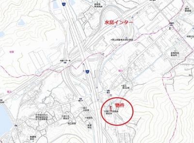 【地図】福江 売地