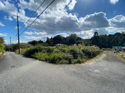 【前面道路含む現地写真】大津市和邇北浜1065-11 売土地
