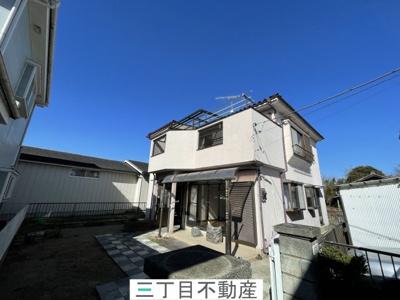 【外観】熊谷市新堀 平成3年築 4SLDK