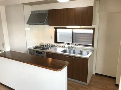 【キッチン】ヴィラコンフォート(鳴尾東小・浜甲子園中学校区)