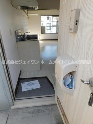 【玄関】ドミール大船