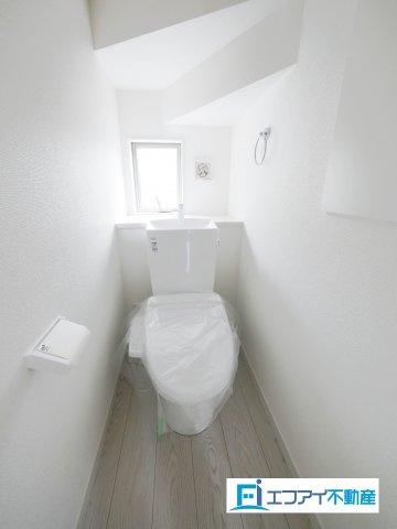 温水洗浄便座/同社施工例