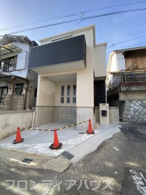【外観】灘区一王山町 新築戸建て