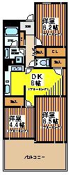 【キッチン】浜田山ダイカンプラザ