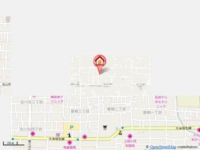 【地図】ブライムソレイユ・