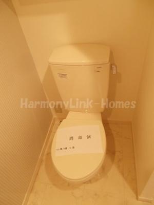 パークアベニューコート五反野のコンパクトで使いやすいトイレです