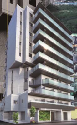 【外観】GENOVIA四谷三丁目greenveil