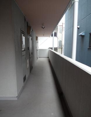 サンクレスト 共用廊下