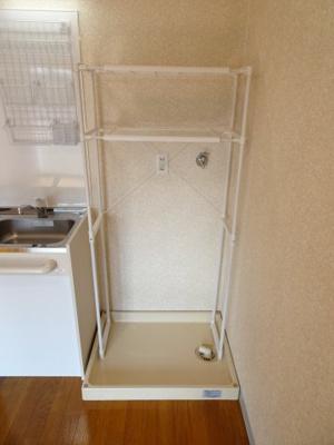サンクレスト 洗濯機置き場は室内(キッチン横)にございます