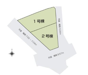 【区画図】安中市高別当 1号棟
