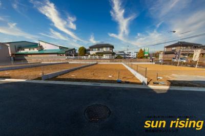 【外観】武蔵村山市榎2丁目 売地 全5区画 4号区