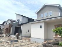 瑞穂市祖父江 新築建売 全3棟 2021年6月完成予定♪お車並列3台可能!お庭スペースもあります。の画像