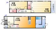 東三国2-25-13貸家の画像