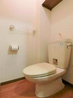 ゆとりあるトイレ