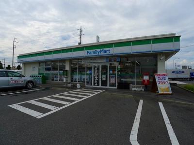 ファミリーマート伊勢崎流通団地まで350m