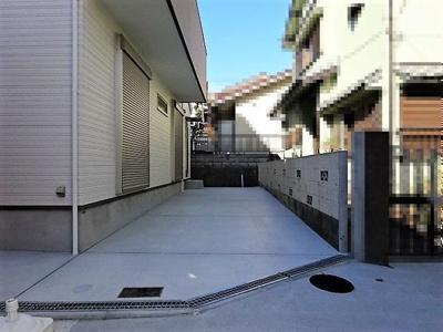 【駐車場】神戸市垂水区歌敷山3丁目 新築戸建