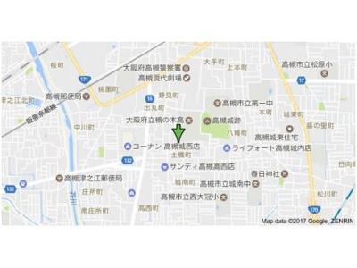 【地図】ジュネス帯曲輪