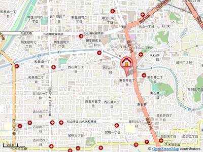 【地図】コモドハウス