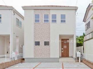 千葉市花見川区作新台 新築一戸建て ※外観施工例です。