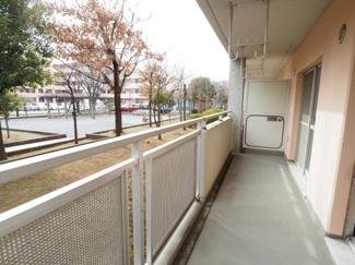 【バルコニー】宿河原東住宅2号館