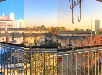 【展望】コンドミニアム小松川五番館 3階 リ ノベーション済 1993年築