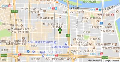 【地図】グリーンプラザ瓦町