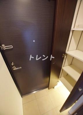【玄関】リーガランド早稲田