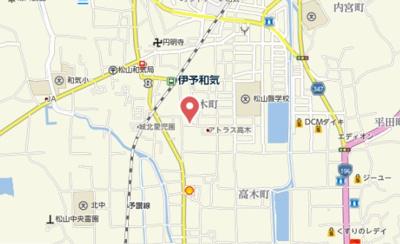 【地図】カーサ城北 B棟