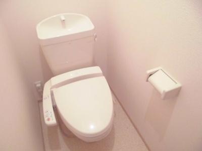【トイレ】カーサ城北 B棟